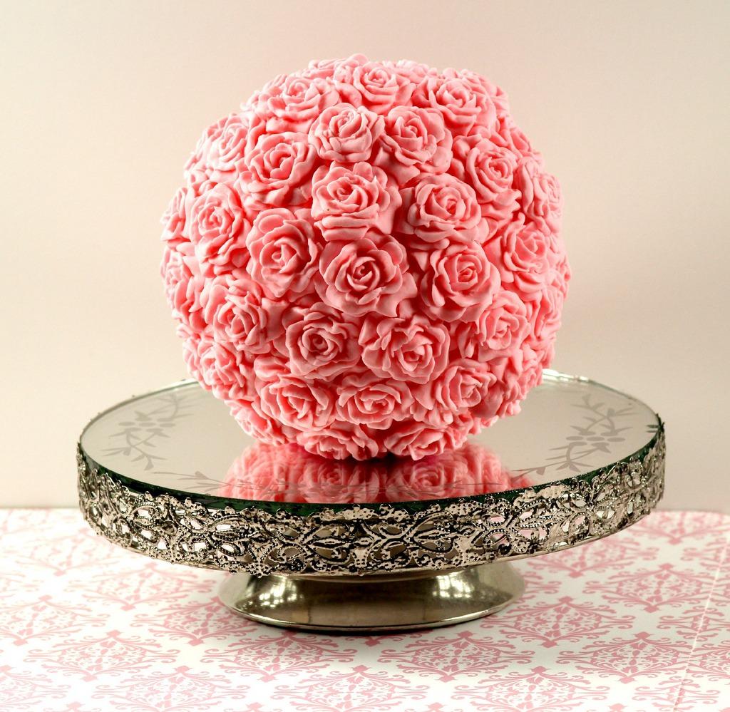 Flower Cake Balls : Pink Flower Ball The Baker In Pink Stilettos