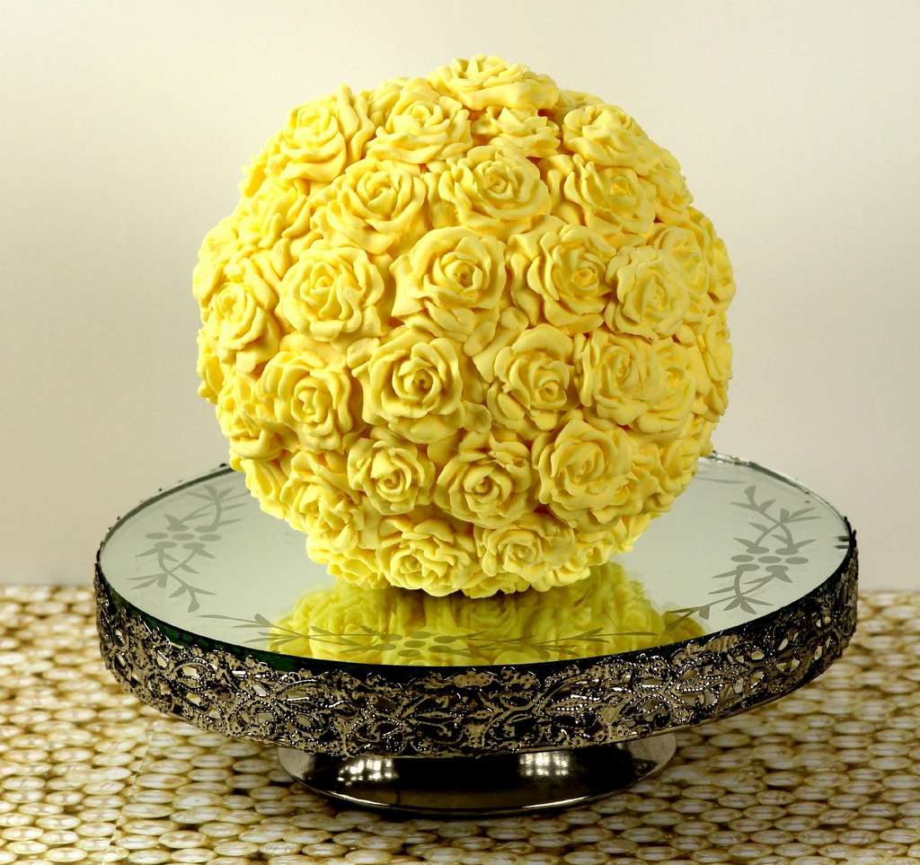 Yellow Flower Ball The Baker In Pink Stilettos